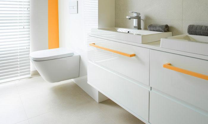 Elements de salle de bain, wc suspendu